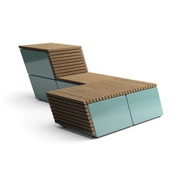 Code Tilt | Exterior benches | Vestre