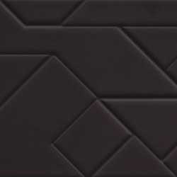 Boris Tellegen Lines Structure Black | Piastrelle/mattonelle da pareti | ASCOT CERAMICHE