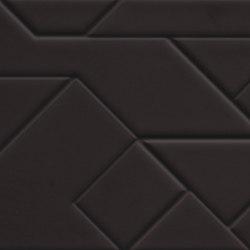 Boris Tellegen Lines Structure Black | Carrelage mural | ASCOT CERAMICHE