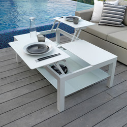 Chic | Opening-coffee Table | Garten-Couchtische | Talenti