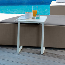Chic Side Table Inox | Tables d'appoint de jardin | Talenti