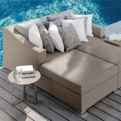 Chic Sofa Longue DX/SX | Seating islands | Talenti