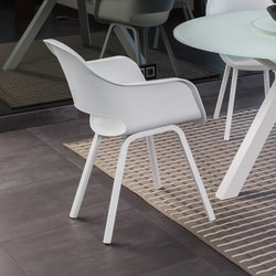 Circle ABS Armchair | Restaurant chairs | Talenti
