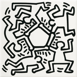 Keith Haring | Wall tiles | ASCOT CERAMICHE