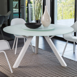 Circle Dining Table Ø150 | Mesas de comedor de jardín | Talenti
