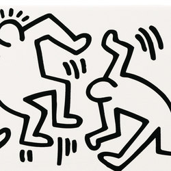 Keith Haring | Carrelage mural | ASCOT CERAMICHE