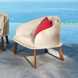 Cleo Poltrona Lounge | Garden armchairs | Talenti