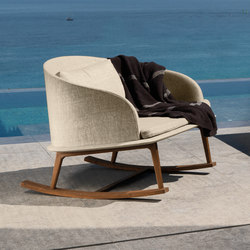 Cleo Rocking Chair | Fauteuils de jardin | Talenti