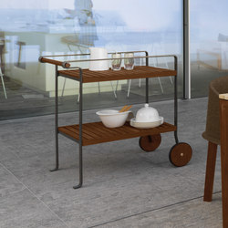 Cleo Carrello | Tea-trolleys / Bar-trolleys | Talenti