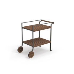 Cleo Teak Tea Cart | Carritos de servicio / Carritos de bar | Talenti