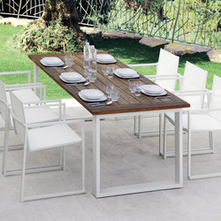 Essence Dining Table | Garten-Esstische | Talenti