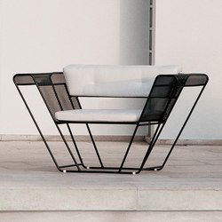 Float Living Armchair | Garden armchairs | Talenti