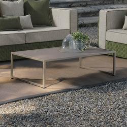 Lily Fabric Coffee Table | Tables basses de jardin | Talenti