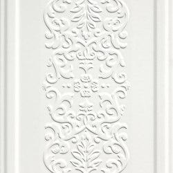 England Bianco Boiserie Dec. | Carrelage mural | ASCOT CERAMICHE