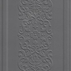 England Nero Boiserie Dec. | Piastrelle ceramica | ASCOT CERAMICHE