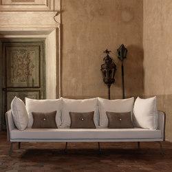 Milo Fabric Sofa | Garden sofas | Talenti