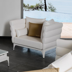 Pad Living armchair | Garden armchairs | Talenti