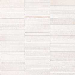 Frame Tratto White Mosaico | Ceramic mosaics | Fap Ceramiche