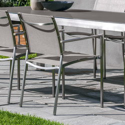 Patch Inox Armchair | Garden chairs | Talenti