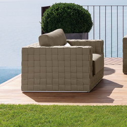 Patch Living Armchair | Garden armchairs | Talenti