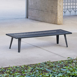 Atlanta bench | Exterior benches | AREA