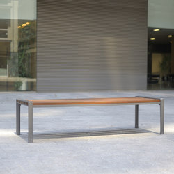 Athenes backless bench | Exterior benches | AREA