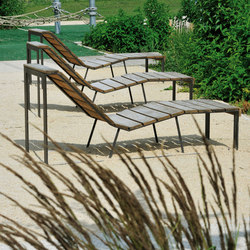 Atlantique chaise longue | Sillas de exterior | AREA