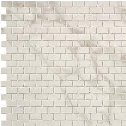 Roma Brick Calacatta Mosaico | Ceramic mosaics | Fap Ceramiche