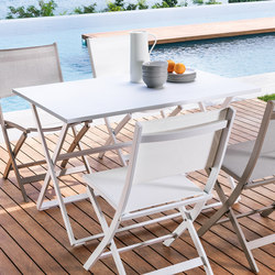 Queen Folding Table | Mesas de bistro de jardín | Talenti