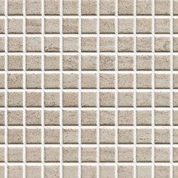 Misty Tortora Scuro Mosaico | Wall tiles | ASCOT CERAMICHE
