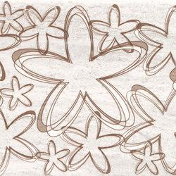 Misty Tortora Happy Inserto | Piastrelle ceramica | ASCOT CERAMICHE