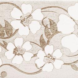 Misty Tortora Flowers Inserto | Carrelage céramique | ASCOT CERAMICHE