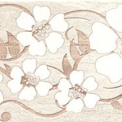 Misty Beige Flowers Inserto | Piastrelle ceramica | ASCOT CERAMICHE