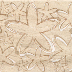 Misty Beige Scuro Happy Inserto | Piastrelle ceramica | ASCOT CERAMICHE