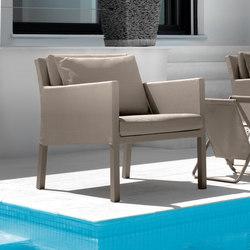 Step Living Armchair | Garden armchairs | Talenti