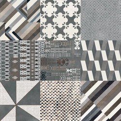 Azulej combination nero | Carrelage céramique | Ceramiche Mutina