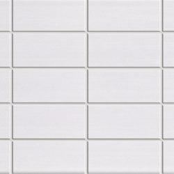 Pennellato Bianco Fascia Incisa | Wandfliesen | ASCOT CERAMICHE