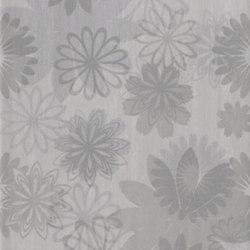Pennellato Grigio Inserto Floreale | Azulejos de pared | ASCOT CERAMICHE