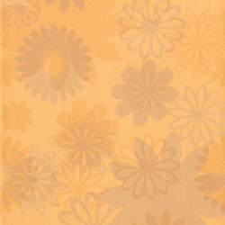 Pennellato Ocra Inserto Floreale | Wall tiles | ASCOT CERAMICHE