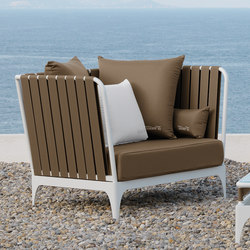 Stripe Living Armchair | Garden armchairs | Talenti