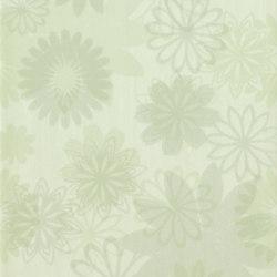 Pennellato Verde Inserto Floreale | Azulejos de pared | ASCOT CERAMICHE