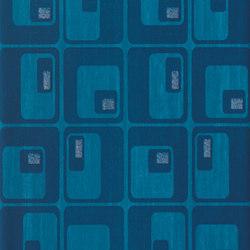Pennellato Blu Inserto Geometrico | Piastrelle/mattonelle da pareti | ASCOT CERAMICHE