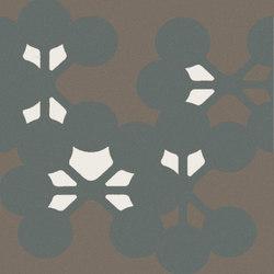 Azulej flores nero | Piastrelle ceramica | Ceramiche Mutina