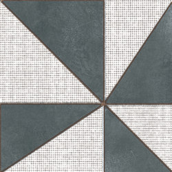 Azulej gira nero | Piastrelle ceramica | Ceramiche Mutina