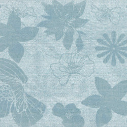 Preziosa Zaffiro Inserto Floreale | Azulejos de pared | ASCOT CERAMICHE