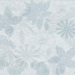 Preziosa Turchese Inserto Floreale | Baldosas | ASCOT CERAMICHE