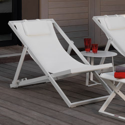 Touch Deck Chair | Méridiennes de jardin | Talenti