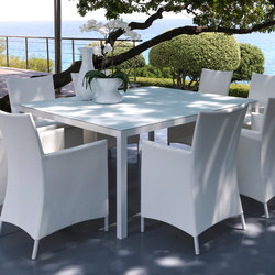 Touch Dining Table | Tables à manger de jardin | Talenti