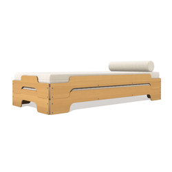 Stacking bed beech | Single beds | Müller Möbelwerkstätten