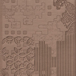Bas-Relief patchwork cipria | Wall tiles | Ceramiche Mutina